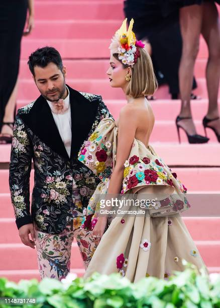 Jonathan Simkhai and Josephine Skriver are seen arriving to the 2019 Met Gala Celebrating Camp Notes on Fashion at The Metropolitan Museum of Art on...