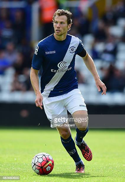 Jonathan Spector of Birmingham City during the PreSeason Friendly match between Birmingham City and Leicester City at St Andrews on August 1 2015 in...