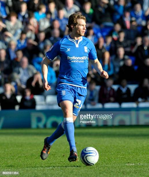 Jonathan Spector of Birmingham City in action during the Npower Championship match between Birmingham City and Nottingham Forest at St Andrews on...