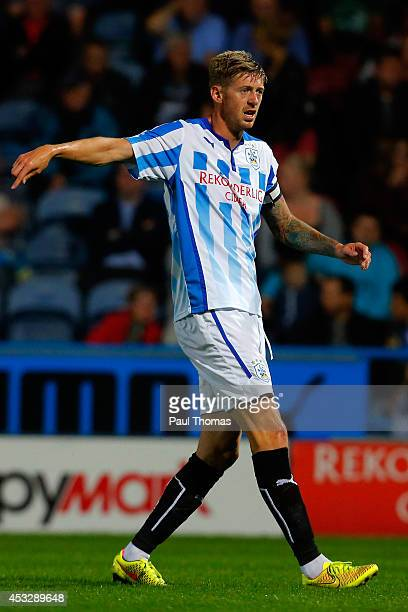 Jonathan Stead of Huddersfield in action during the Pre Season Friendly match between Huddersfield Town and Newcastle United at the John Smith's...