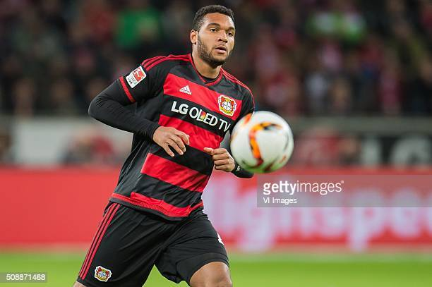 Jonathan Tah of Bayer 04 Leverkusen during the Bundesliga match between Bayer 04 Leverkusen and FC Bayern Munich on February 6 2016 at the BayArena...