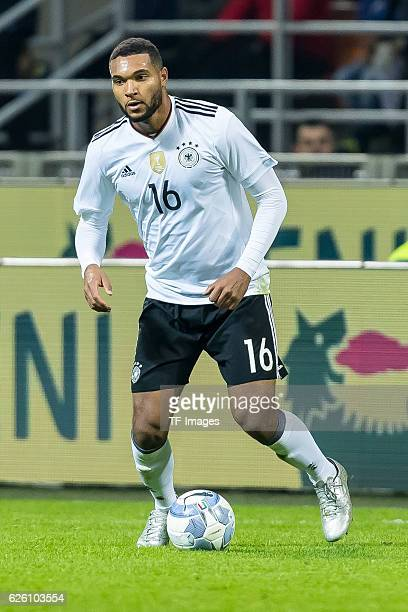 Jonathan Tah of Germany in action during the International Friendly match between Italy and Germany at GiuseppeMeazzaStadion on November 15 2016 in...