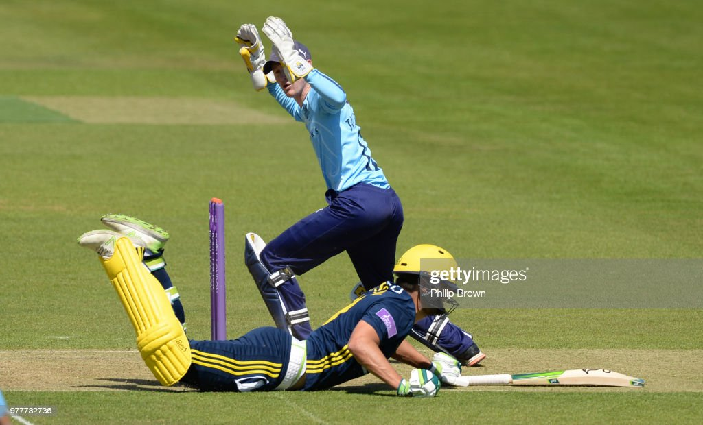 Hampshire v Yorkshire - Royal London One-Day Cup Semi Final