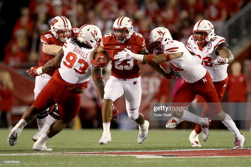 Nebraska v Wisconsin : News Photo