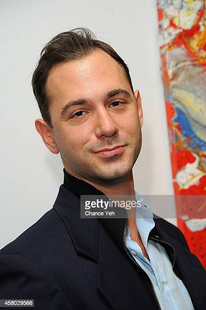 Jonathan Tchaikovsky attends Aelita Andre Exhibit Opening Night at Gallery 151 on October 28 2014 in New York City