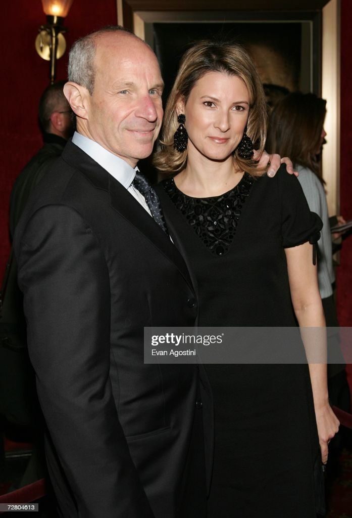 Jonathan Tisch, ceo of Loews Corporation and his wife attend the World Premiere of 'The Good Shepherd' presented by Universal Pictures at the Ziegfeld Theatre on December 11, 2006 in New York City