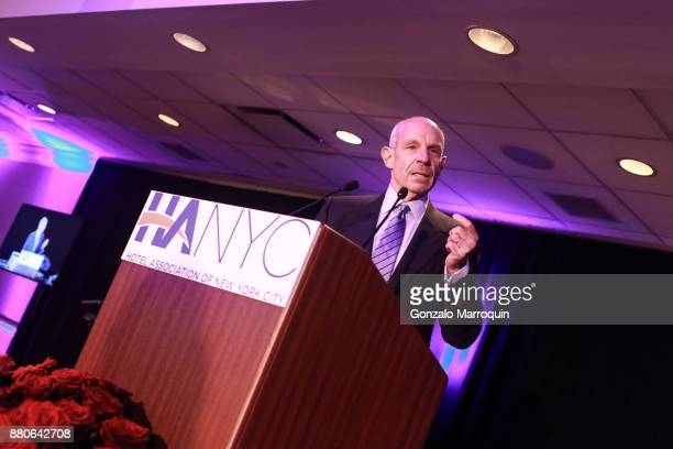 Jonathan Tisch during the Hotel Association of New York City hosts 'The Red Carpet Hospitality Gala' HANYC's Annual Dinner/Dance at Sheraton New York...