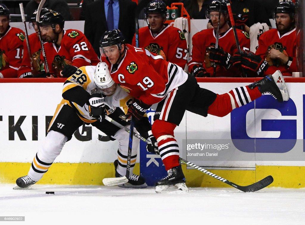 Pittsburgh Penguins v Chicago Blackhawks