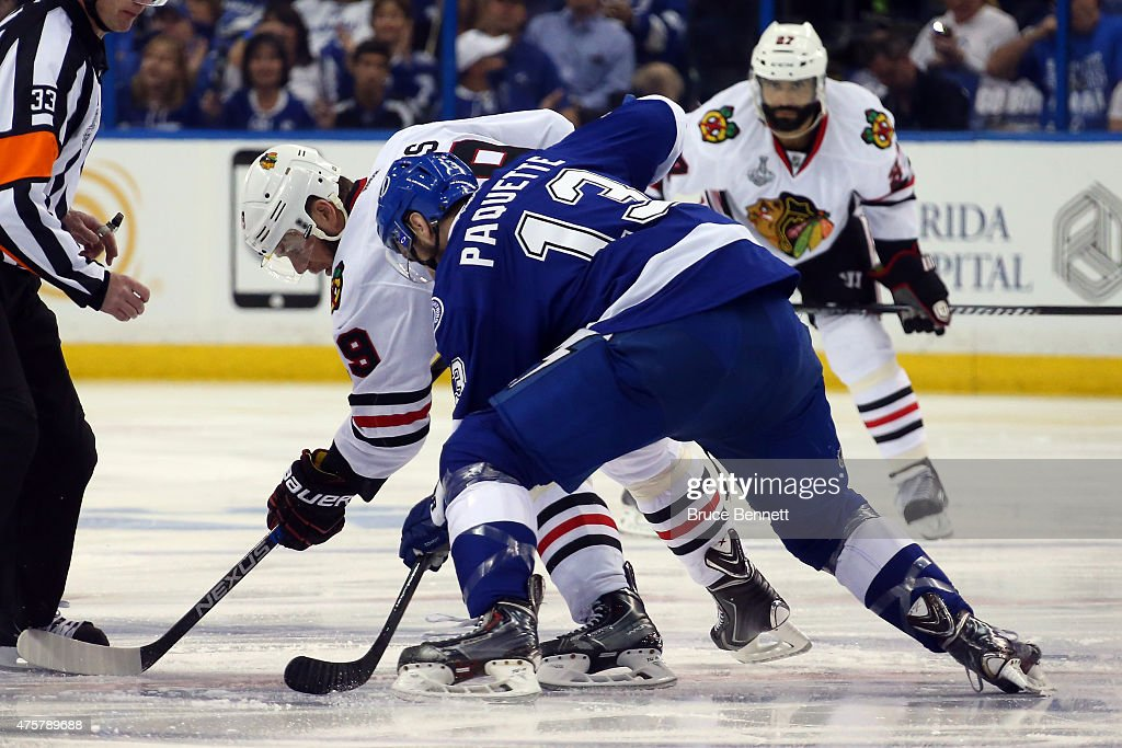 2015 NHL Stanley Cup Final - Game One : News Photo
