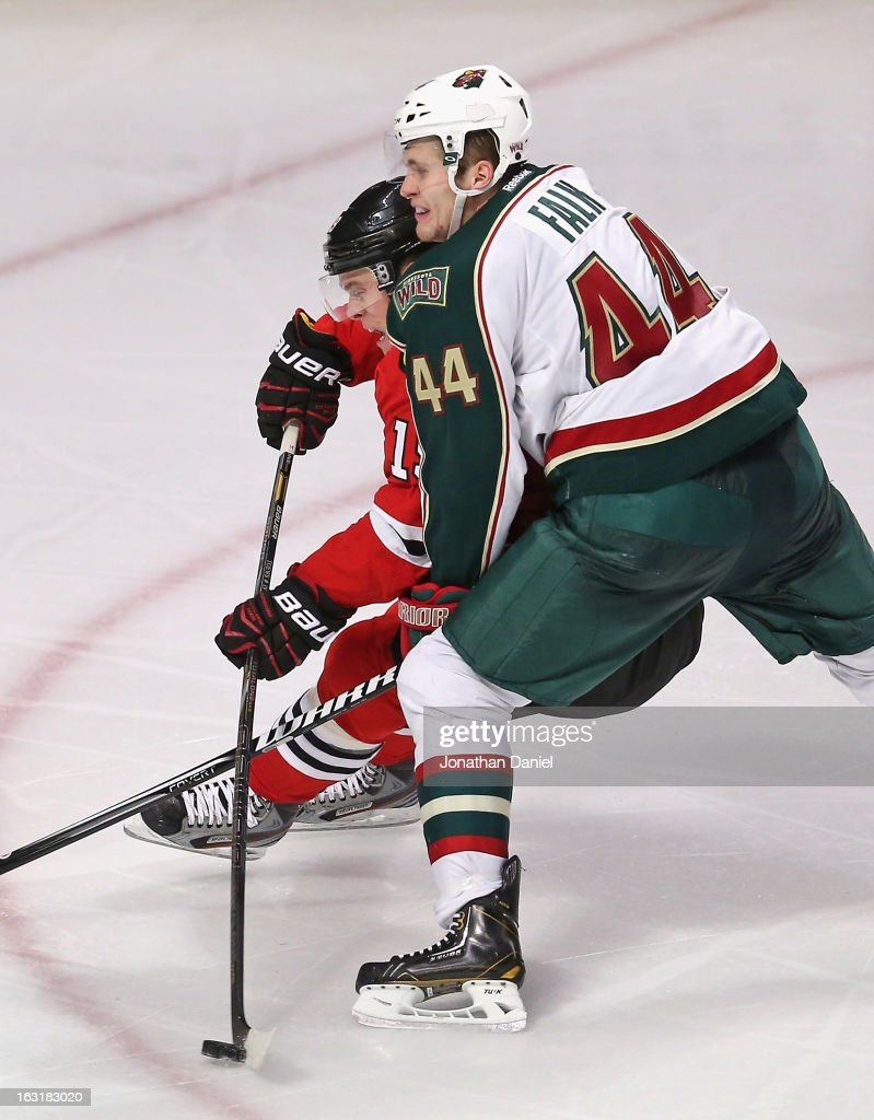 Minnesota Wild v Chicago Blackhawks