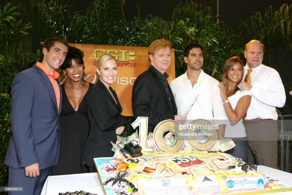 CSI Miami 100th Episode Celebration