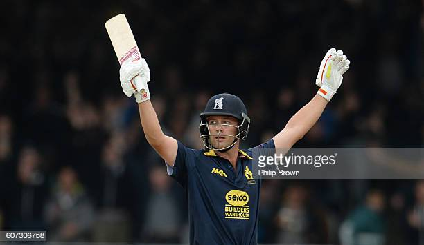 Jonathan Trott after winning the Royal London oneday cup final cricket match between Warwickshire and Surrey at Lord's cricket ground on Sepember 17...