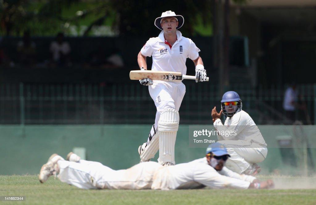 Sri Lanka A v England - Day Two