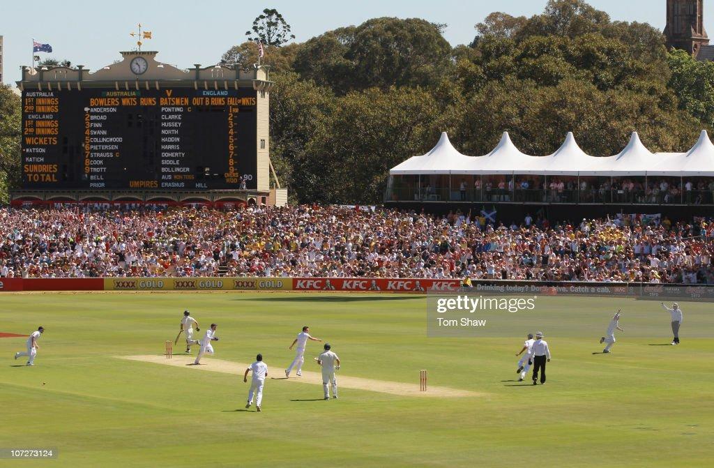 Second Test - Australia v England: Day One