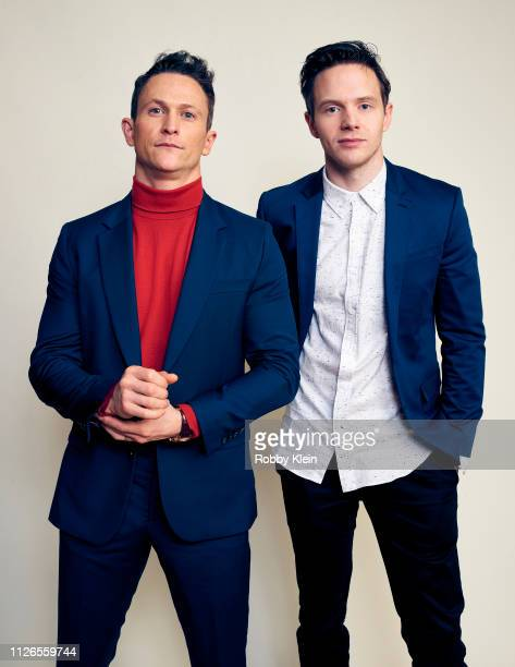 Jonathan Tucker and Mark O'Brien of Showtime's 'City On A Hill' poses for a portrait during the 2019 Winter TCA at The Langham Huntington Pasadena on...