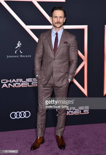 Jonathan Tucker attends the Premiere of Columbia Pictures' Charlie's Angels at Westwood Regency Theater on November 11 2019 in Los Angeles California