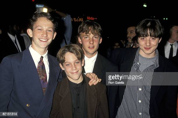 Jonathan Tucker Jeffrey Wigdor Brad Renfro and Joe Perrino
