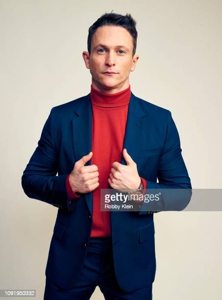 Jonathan Tucker of Showtime's 'City On A Hill' poses for a portrait during the 2019 Winter TCA at The Langham Huntington Pasadena on January 31 2019...
