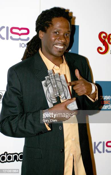 Jonathan Ulysses during The 2005 House Music Awards at Hammersmith Palais in London Great Britain