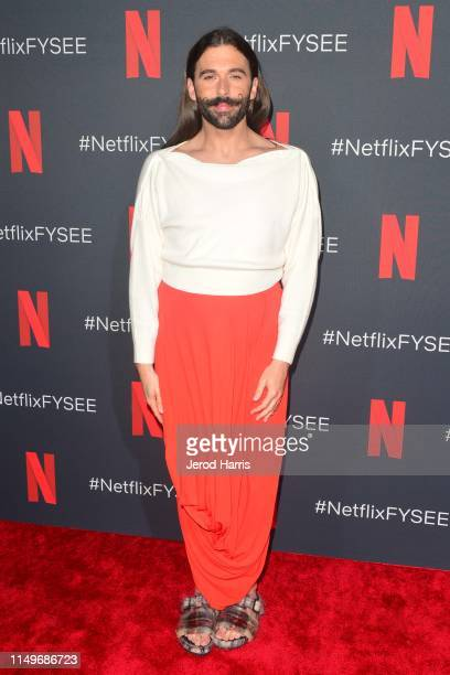 Jonathan Van Ness attends FYC Event of Netflix's 'Queer Eye' at Raleigh Studios on May 16 2019 in Los Angeles California