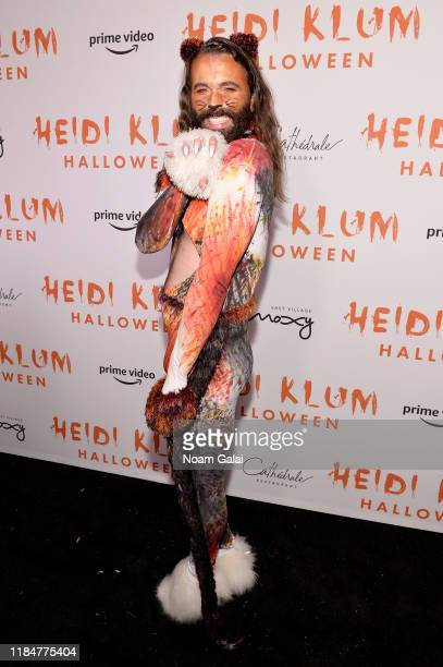Jonathan Van Ness attends Heidi Klum's 20th Annual Halloween Party presented by Amazon Prime Video and SVEDKA Vodka at Cathédrale New York on October...