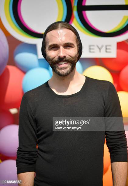 Jonathan Van Ness attends Netflix's Queer Eye and GLSEN event at NeueHouse Hollywood on August 12 2018 in Hollywood California