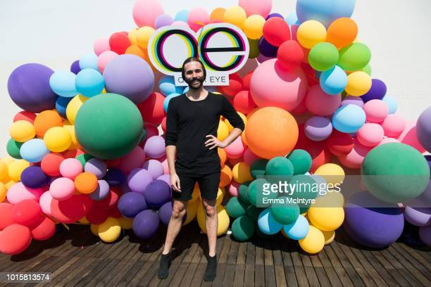 Jonathan Van Ness attends Netflix's 'Queer Eye' Celebrates 4 Emmy Nominations with GLSEN at NeueHouse Hollywood on August 12 2018 in Los Angeles...