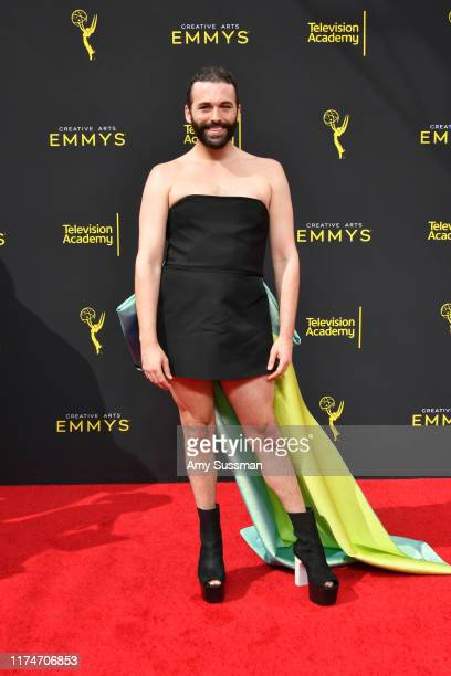 Jonathan Van Ness attends the 2019 Creative Arts Emmy Awards on September 14 2019 in Los Angeles California