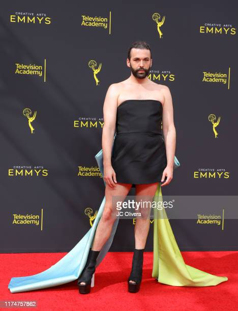 Jonathan Van Ness attends the 2019 Creative Arts Emmy Awards on September 14, 2019 in Los Angeles, California.
