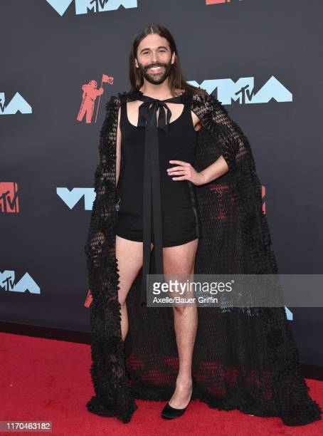Jonathan Van Ness attends the 2019 MTV Video Music Awards at Prudential Center on August 26 2019 in Newark New Jersey