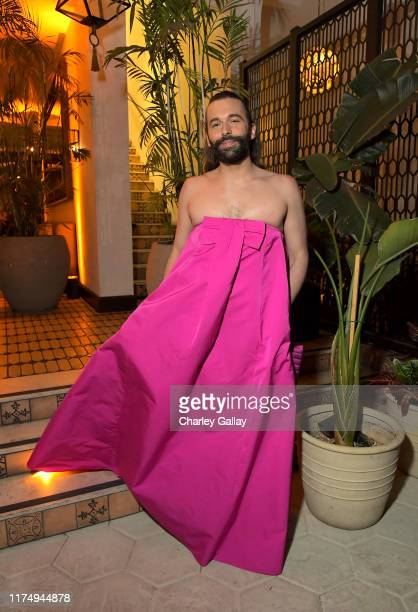 Jonathan Van Ness attends the 2019 Netflix Creative Arts Emmy After Party at Hotel Figueroa on September 15, 2019 in Los Angeles, California.