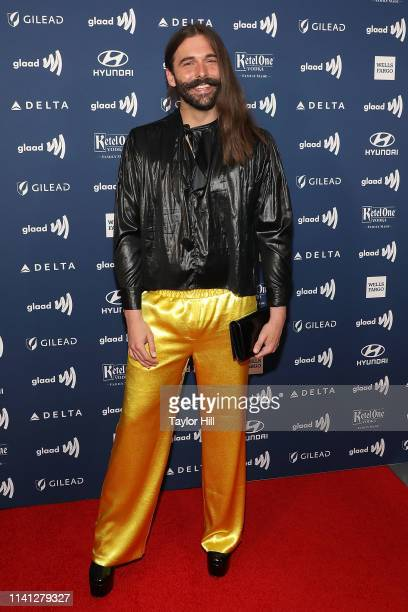 Jonathan Van Ness attends the 30th Annual GLAAD Media Awards at New York Hilton Midtown on May 4 2019 in New York City