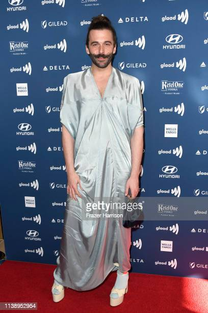 Jonathan Van Ness attends the 30th Annual GLAAD Media Awards at The Beverly Hilton Hotel on March 28 2019 in Beverly Hills California