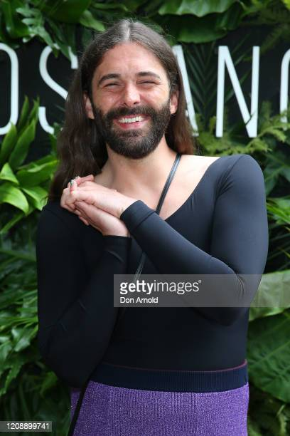 Jonathan Van Ness attends the Biossance launch at Botanic House on February 27, 2020 in Sydney, Australia.