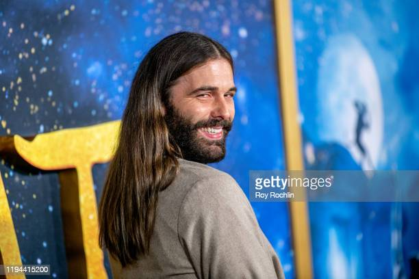 """Jonathan Van Ness attends the """"Cats"""" World Premiere at Alice Tully Hall, Lincoln Center on December 16, 2019 in New York City."""