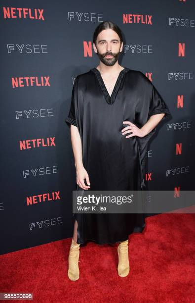 Jonathan Van Ness attends the Netflix FYSee Kick Off Party at Raleigh Studios on May 6 2018 in Los Angeles California