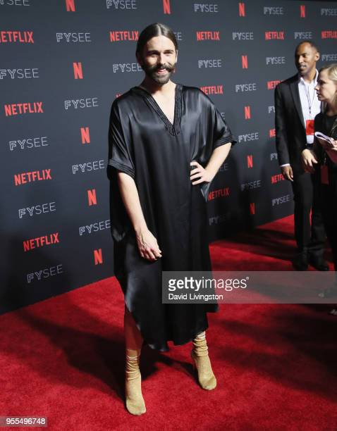 Jonathan Van Ness attends the Netflix FYSEE KickOff at Netflix FYSEE At Raleigh Studios on May 6 2018 in Los Angeles California