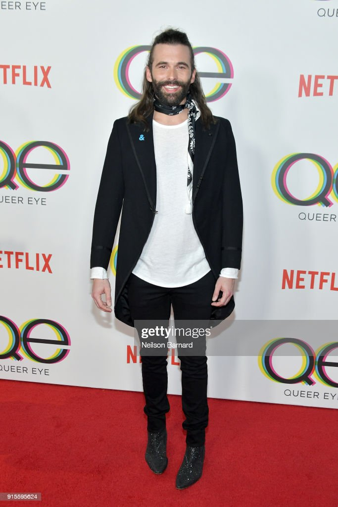 "Premiere Of Netflix's ""Queer Eye"" Season 1 - Arrivals : News Photo"