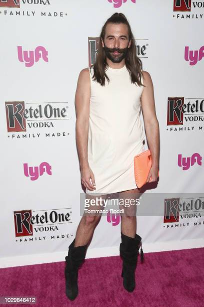 Jonathan Van Ness attends The Queer Eye Emmy Cast Party hosted by Ketel One FamilyMade Vodka at Kimpton La Peer Hotel on September 8 2018 in West...
