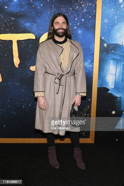 """Jonathan Van Ness attends the world premiere of """"Cats"""" at Alice Tully Hall, Lincoln Center on December 16, 2019 in New York City."""