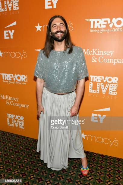Jonathan Van Ness attends TrevorLIVE NY 2019 at Cipriani Wall Street on June 17 2019 in New York City
