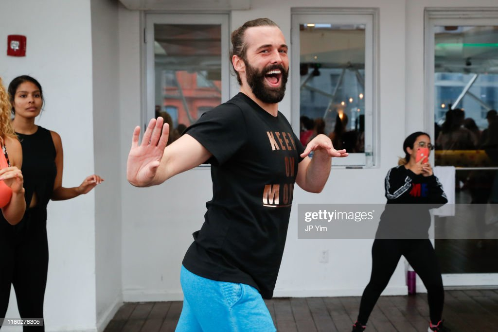 Jonathan Van Ness Joins Forces With Zumba Fitness On World Mental Health Day : News Photo