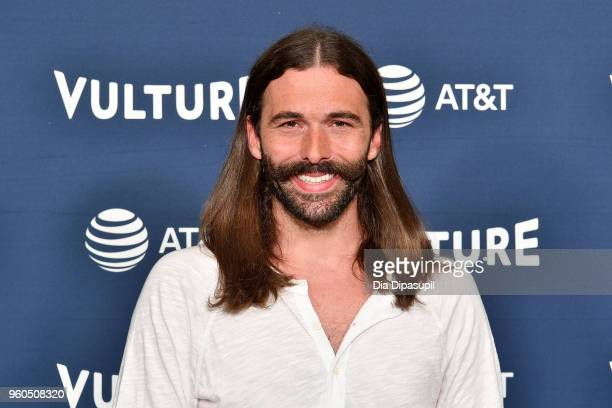 Jonathan Van Ness of Netflix's Queer Eye attends Day Two of the Vulture Festival Presented By AT&T at Milk Studios on May 20, 2018 in New York City.