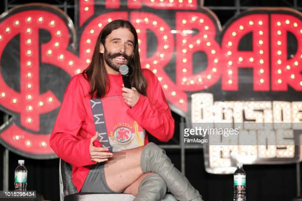 Jonathan Van Ness performs on The Barbary Stage during the 2018 Outside Lands Music And Arts Festival at Golden Gate Park on August 11 2018 in San...