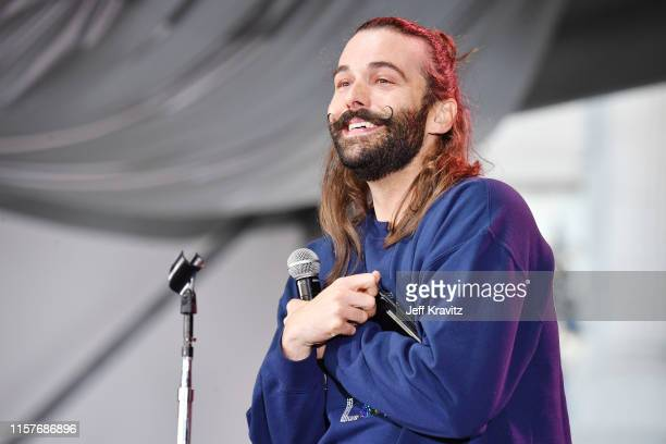 Jonathan Van Ness performs onstage at the 2019 Clusterfest on June 22 2019 in San Francisco California