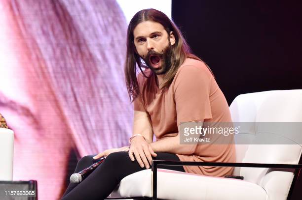 Jonathan Van Ness speaks onstage at the 2019 Clusterfest on June 22 2019 in San Francisco California