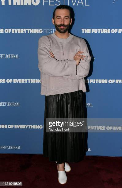 """Jonathan Van Ness speaks onstage at The Wall Street Journal's """"The Future of Everything Festival"""" at Spring Studios on May 22, 2019 in New York City."""