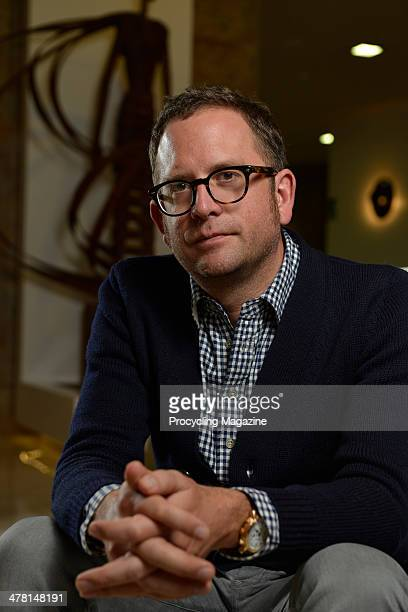Jonathan Vaughters, CEO and General manager of UCI professional cycling team Garmin-Sharp, photographed during a portrait shoot for Procycling...