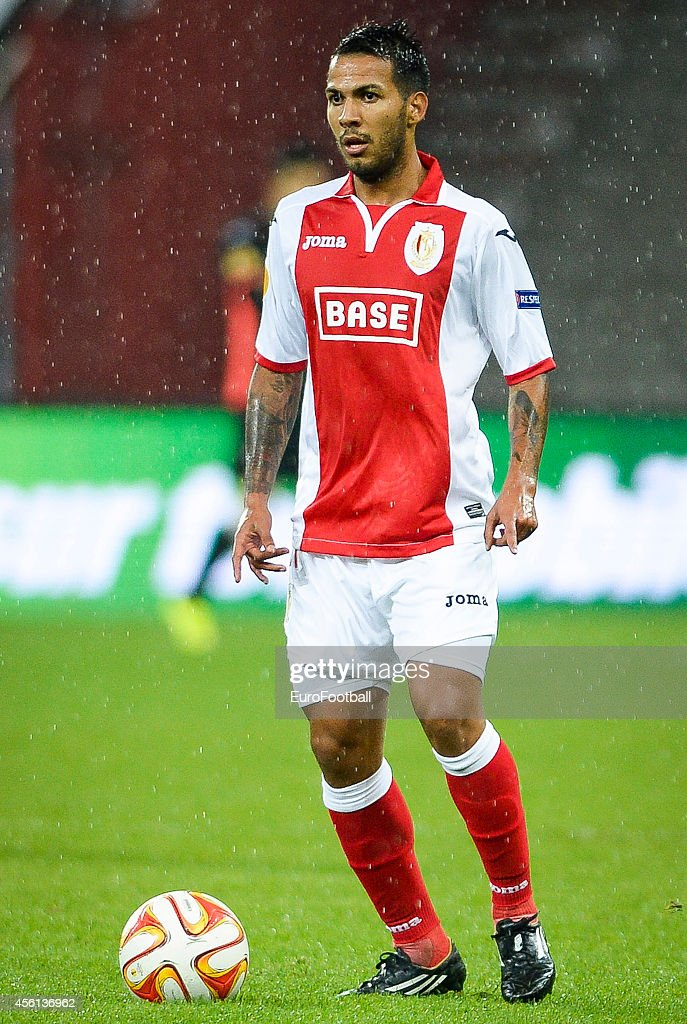 Jonathan Viera of Standard de Liege in action during the UEFA Europa League Group G match between R. Standard de Liege and HNK Rijeka at the Stade Maurice Dufrasne on September 18,2014 in Liege,Belgium.