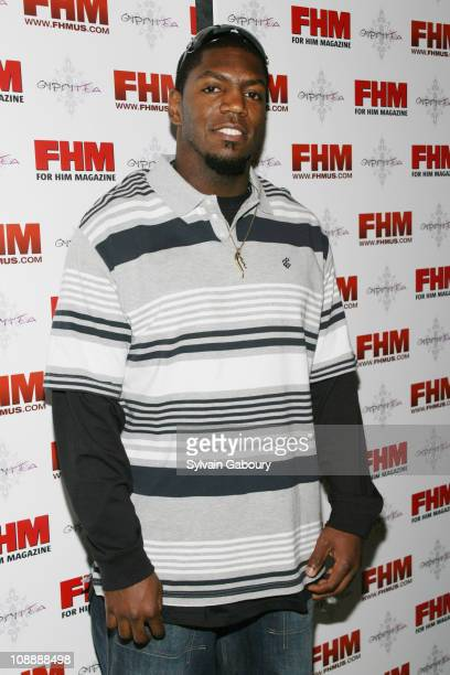 Jonathan Vilma during FHM Party for the NFL Players Draft at Gypsy Tea in New York, NY, United States.